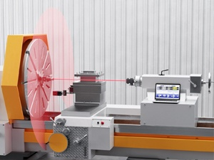 Hamar Laser's new L-702SP Spindle Alignment Laser with Scan Plane was designed for CNC lathes, multi-turn machines and very large manual lathes