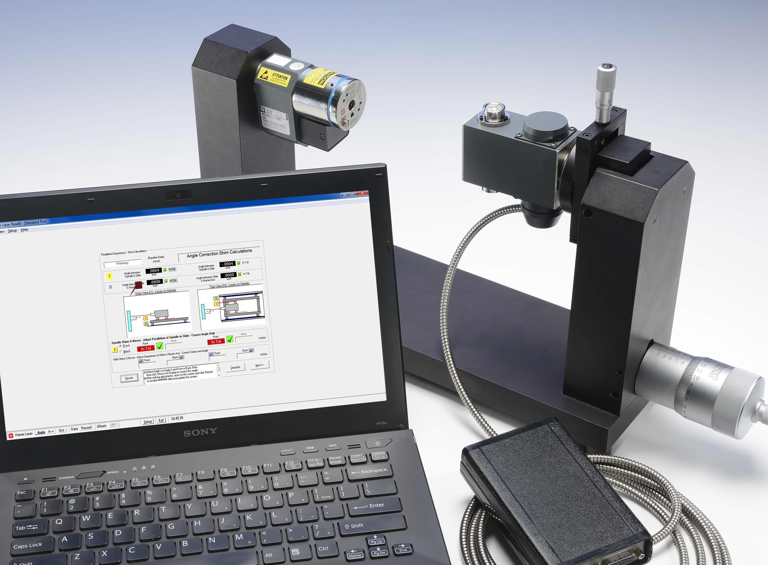 L-700 Spindle Alignment System
