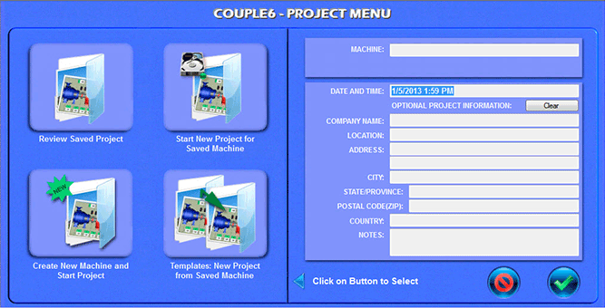 Couple6 Project Menu