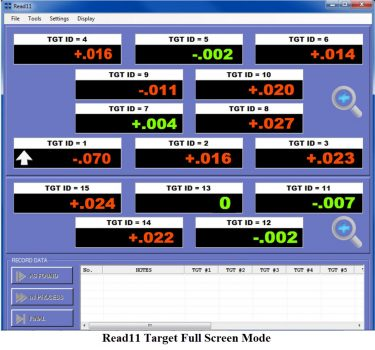 S-1401 Read11 Multi-Readout Software for Win. 7/8/8.1/10 for up to 15 A-1519-2.4ZB Targets
