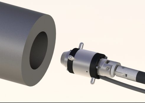 A-221 2-Axis Small-Bore, Self-Centering Target for Bores from 1.18-10 in. (30-255 mm)