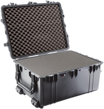 A-809XL5 Extra Heavy-Duty, Wheeled Shipping Case for L-730/L-740 Series Lasers